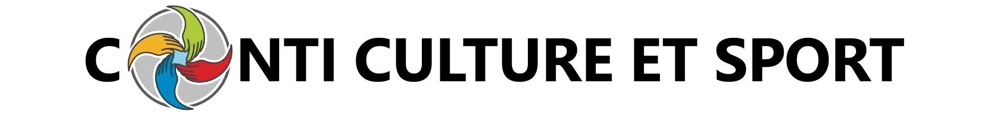 Le logo de Conti Culture et Sport, Réseau de Solidarité International